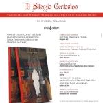 """PRESENTAZIONE DEL LIBRO """"IL SILENZIO CERTOSINO"""""""