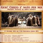 IL 27 DICEMBRE PRESEPE VIVENTE IN ABITO D'EPOCA A MONTEBELLO JONICO