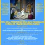 INIZIANO I FESTEGGIAMENTI IN ONORE DI MARIA SANTISSIMA DELLA PRESENTAZIONE