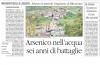 """ARSENICO A MASELLA: ECCO L'AMPIO SERVIZIO PUBBLICATO SU """" IL QUOTIDIANO DEL SUD"""""""