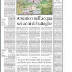 ARSENICO NELLE FONDANE PUBBLICHE: CHIUSE DOPO SEI ANNI
